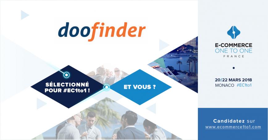 Doofinder sera présent au E-commerce 1 to 1 Monaco, du 20 au 22 mars 2018