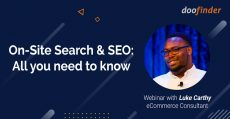 """""""On-Site Search and Seo for ecommerce"""" with Luke Carthy, at a glance"""