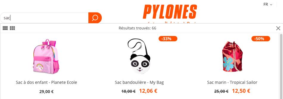 display discount