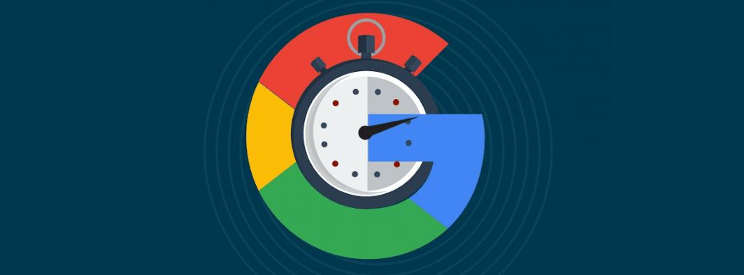 La velocidad del buscador de google