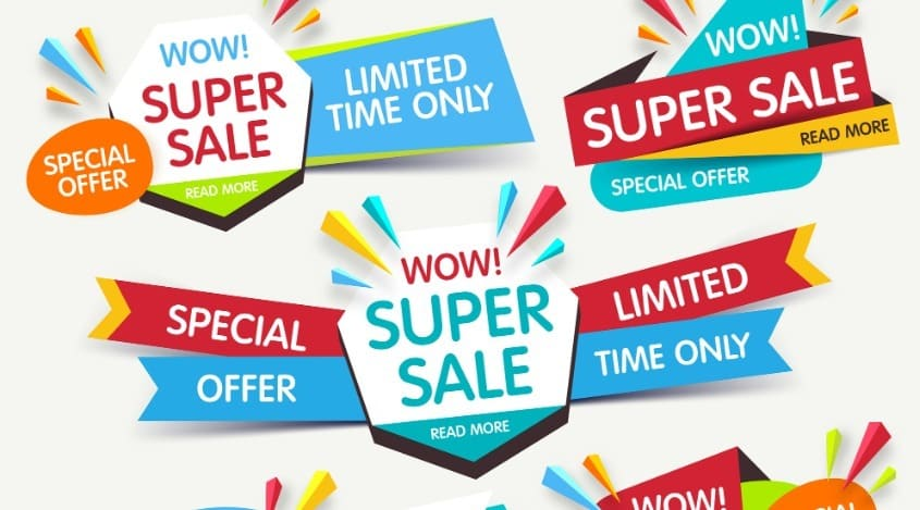 Conoce cuáles son los tipos de promociones de venta más usadas y qué objetivo tiene cada una