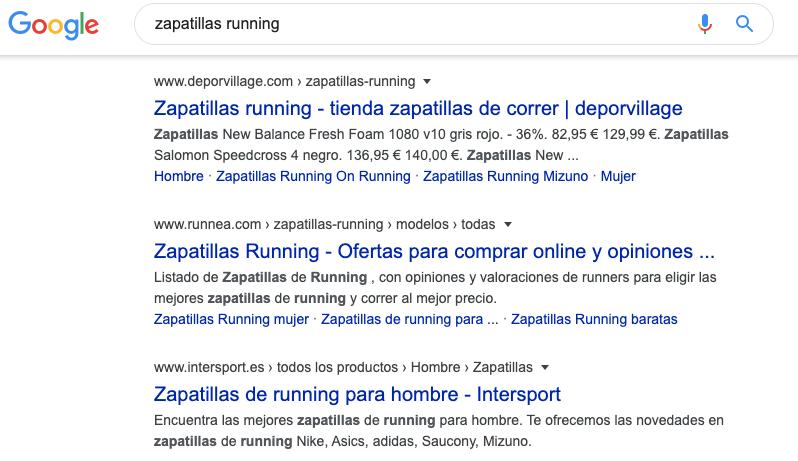google-resultados-zapatillas-running
